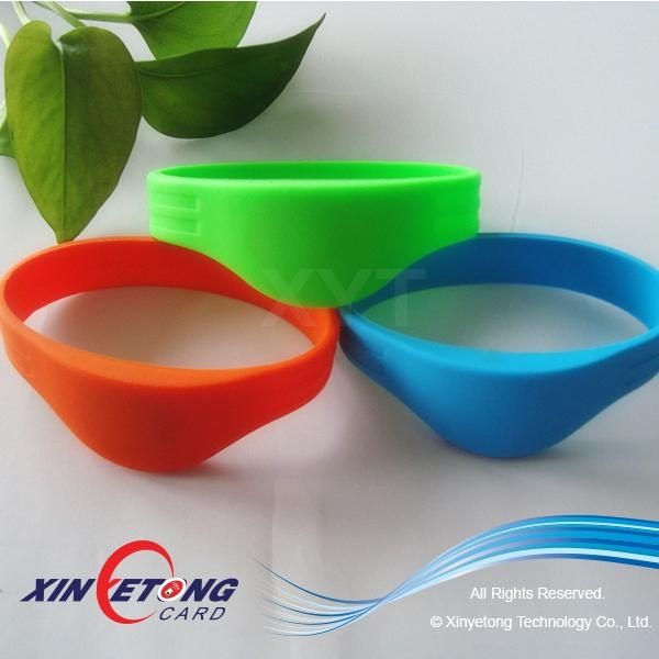 13.56MHZ RFID Wristbands MF Classic 1K S50 2