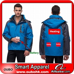 High quality of mens jackets with battery system heating clothing warm OUBOHK