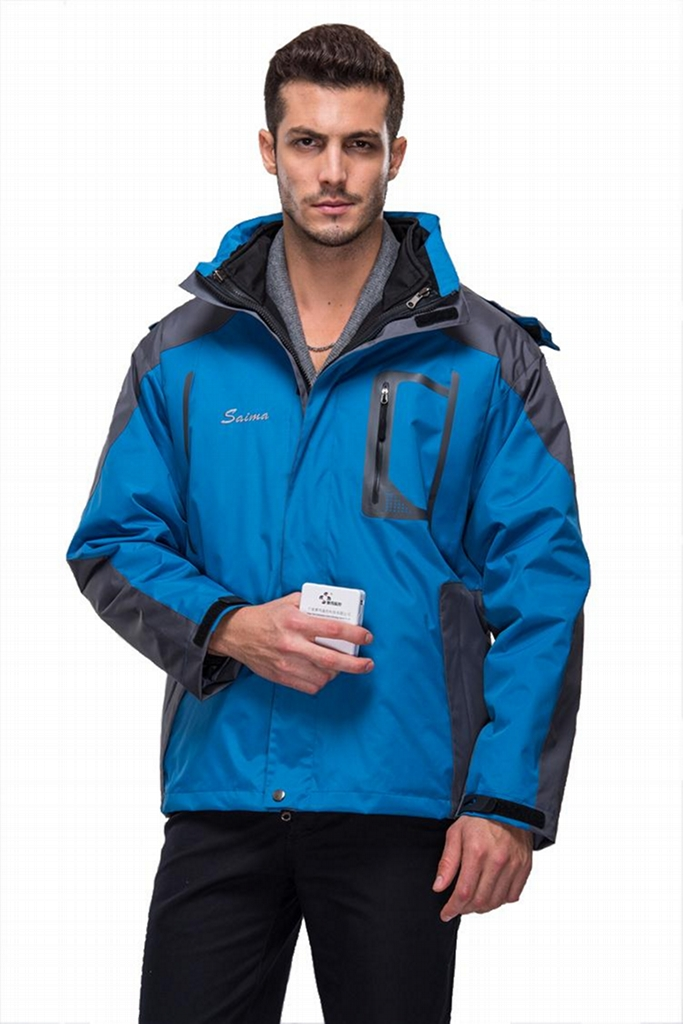High quality of mens jackets with battery system heating clothing warm OUBOHK 3