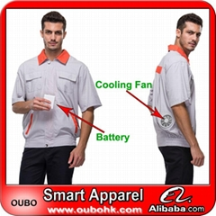 WORKWEAR OVERALL with automatic cooling system Outdoor Working OUBOHK