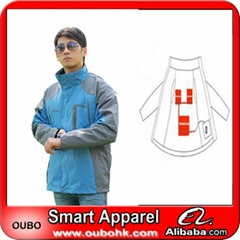 Men's Sports Jacket with battery system electric heating clothing warm OUBOHK