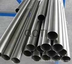 seamless astm b338 gr1 gr2 gr5 titanium tube for heat exchangers