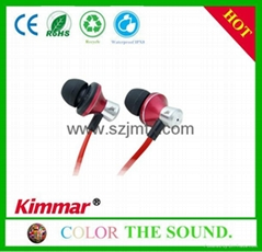 2014 OEM Stereo In-ear Earphones with Bass For Mobile Phone