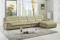 real  leather   sofa  L.P.2802