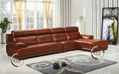 real  leather   sofa  L.P.2808