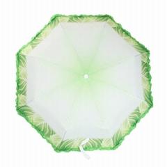 21 inch x 8 k manual open vegetable umbrella special umbrella for promotions