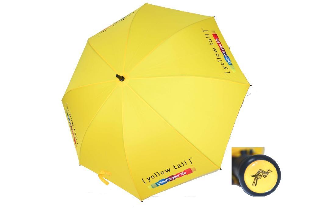 深圳市大黄色高尔夫促销礼品伞 2