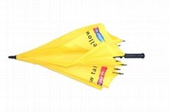 深圳市大黃色高爾夫促銷禮品傘