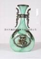 仿玉工藝品花瓶 4