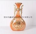 仿玉工藝品花瓶 5