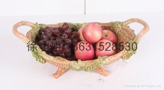 樹脂工藝品果盤 2