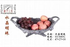 樹脂工藝品果盤