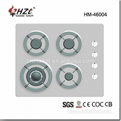 Stainless Steel 4 Burner Gas Stove