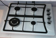 4 Burner Enamel Panel Built -in Gas Stove