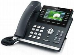 亿联(Yealink)高端无纸化IP电话机SIP-T46G