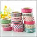 Assorted pattern Japanese Washi tape