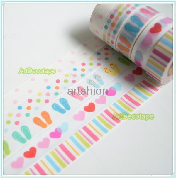 Washi paper tape adhesive tape sticker  1
