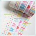 Washi paper tape adhesive tape sticker  2