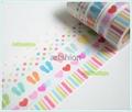 Washi paper tape adhesive tape sticker  4