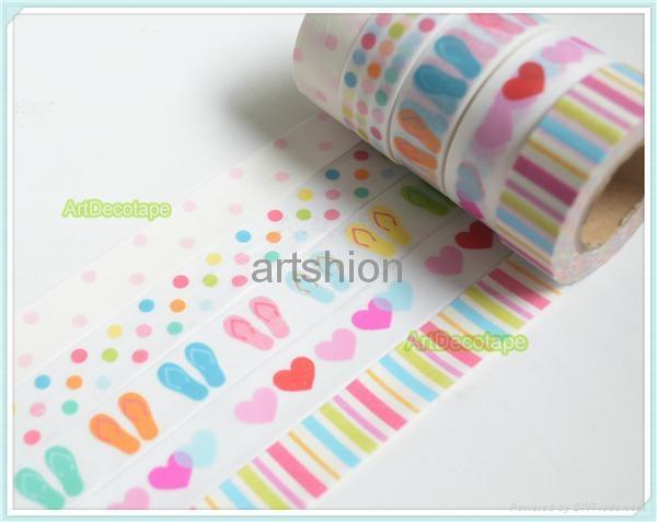 Washi paper tape adhesive tape sticker  5
