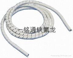 白色纏繞管