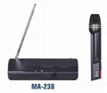 professional wireless microphone MA-238