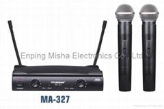 恩平曼圣电子VHF无线麦克风MA-327