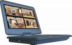 4 CH CCTV DVR with 13 inch Standalone DVR
