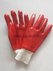 JC1101 PVC coated gloves