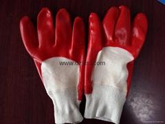 JC1102PVC coated gloves