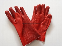 JC1110 TERRY IN PALM PVC GLOVES