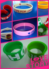 CHRISTMAS SILICONE GIFTS SILICONE BRACELET