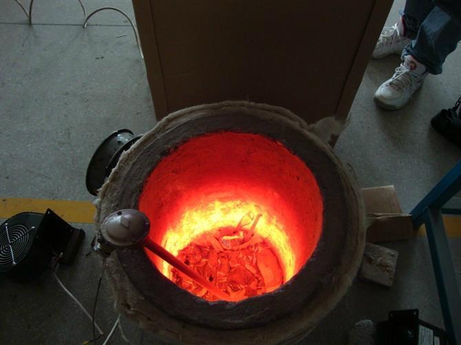铝合金电磁熔炉 1