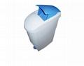 Lady Sanitary Bin  Plastic Foot Pedal Waste Bin  2
