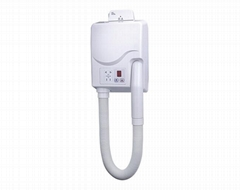 Wall Mounted Commercial Hotel Skin Professional Manufacturer Hair Dryer Heating