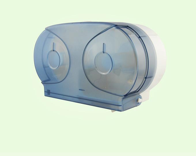 Mini Twin Jumbo Roll Tissue Dispenser 1