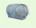 Mini Twin Jumbo Roll Tissue Dispenser