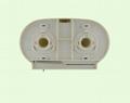 Mini Twin Jumbo Roll Tissue Dispenser 2