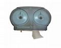 Mini Twin Jumbo Roll Tissue Dispenser 4