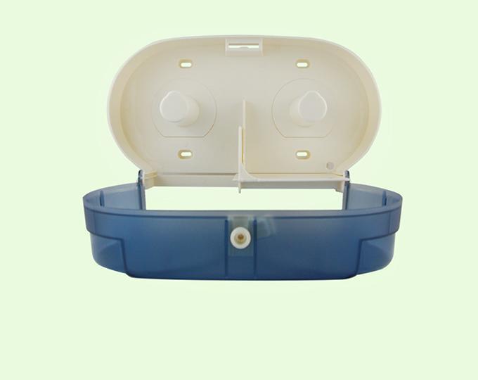 Mini Twin Jumbo Roll Tissue Dispenser 8