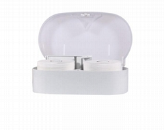 "6"" Micro-twin Roll Tissue Dispenser"