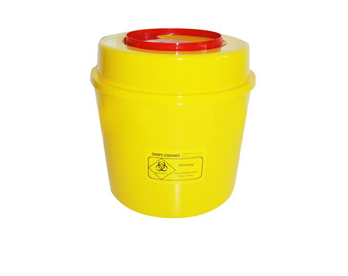 Barrel sharp-box pressure type for disposable medical waste 1