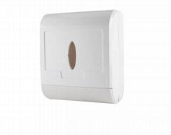V folded tissue dispenser
