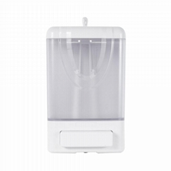 2019 Hot Sell Plastic 1000ML capacity Transparent Liquid Soap Dispenser