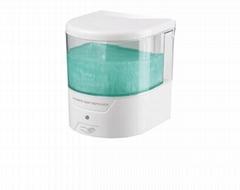 Transparent visual infrared sensing Automatic soap dispenser