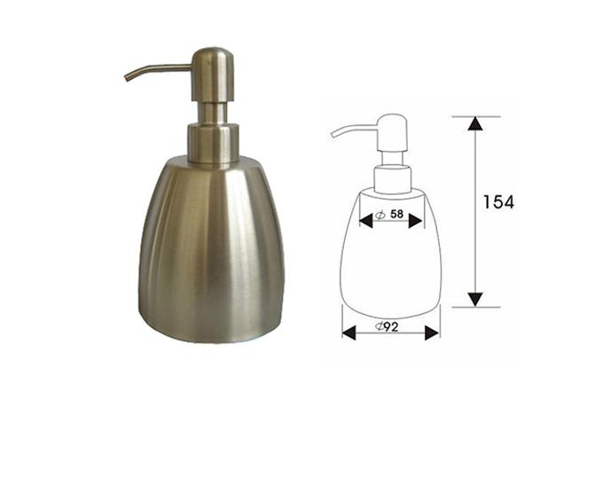 Cone Primary Colour Manual 304 Stainless steel Soap Dispenser 1