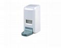 Large capacity 1000ML wall-mounted soap