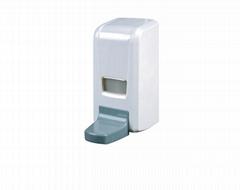 Large capacity 1000ML wall-mounted soap dispenser Manually press the drip