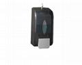ABS Plastic Manual Soap Dispenser Black