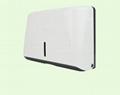 Restaurant Manual Wall Toilet Tissue Paper Hand Towel Holder Dispenser 2